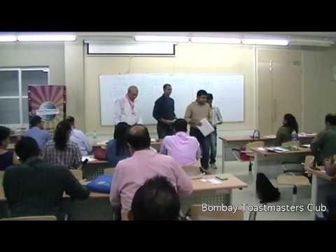 Meeting 228 - Bombay Toastmasters - 24 JUN 2017