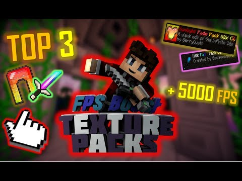 +5000 FPS! TOP 3 SMOOTH FPS BOOST TEXTURE PACKS 🌟 [+DOWNLOAD] Minecraft SKYWARS