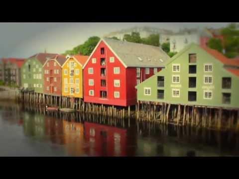Glimt fra Bakklandet, Trondheim - torsdag 13. Juni 2013
