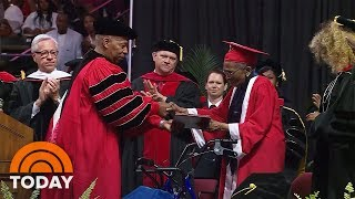 WWII Veteran, 99, Accepts College Diploma 70 Years Later   TODAY