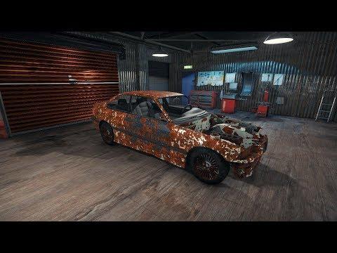 BMW M3 E36 - Full Junkyard Restoration Timelapse - Car Mechanic Simulator 2018 CMS18
