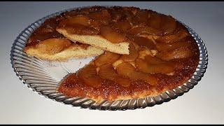 Яблочный пирог-перевертыш )