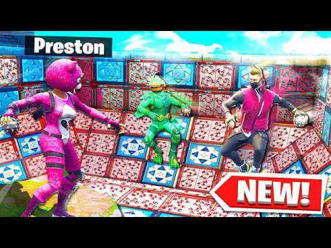 FORTNITE *NEW* 1v1v1v1 DEATH BALL KING of THE HILL (Spiky St