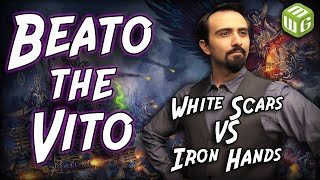 White Scars vs Iron Hands Warhammer 40k Battle Report - Beato the Vito Ep 27