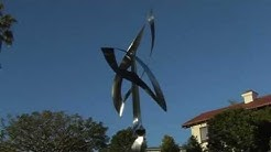 Someone Sent Me Two Feathers - a Kinetic Wind Sculpture