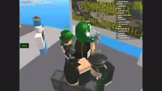 I MET stickmasterluke ON ROBLOX!!! XD