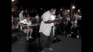 """Drift Away"" sung by Michael-David Gordon in Washington Sq. Park"