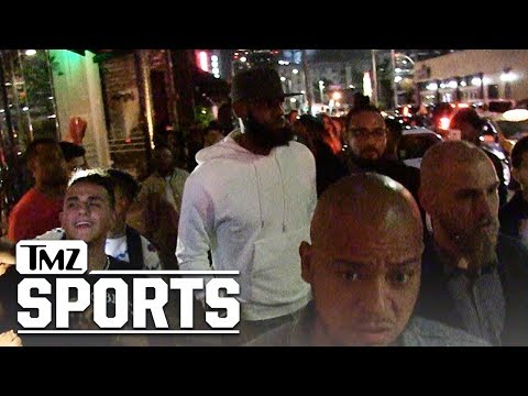 LeBron James Hollywood Partying with Kevin Durant, 'Welcome to L.A.' | TMZ Sports