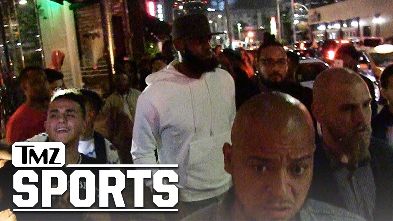 041ac3435e8e LeBron James Hollywood Partying with Kevin Durant