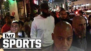 LeBron James Hollywood Partying with Kevin Durant,