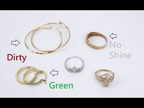 How To Clean Gold Silver Jewelry Simple Easy