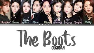 Gambar cover Gugudan(구구단) - 'THE BOOTS' (Han|Rom|Eng) COLOR CODED LYRICS