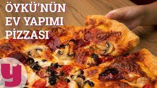 Öykü'nün Ev Yapımı Pizzası (İşte Bu Kadar Kolay!) | Yemek.com