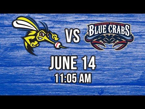 6/14/17-Sugar Land Skeeters vs. Southern Maryland Blue Crabs