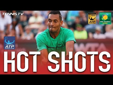 Kyrgios Sprints And Rips Hot Shot Past Djokovic