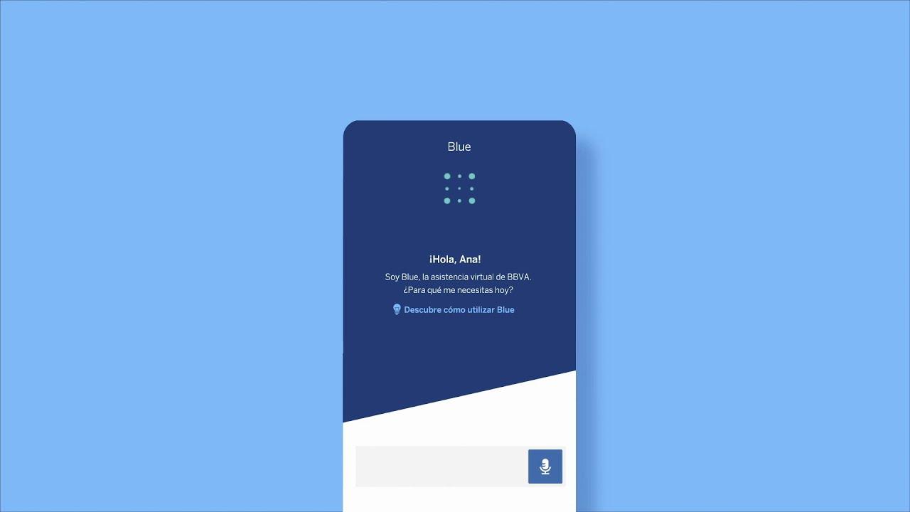 Blue: el nuevo asistente virtual de BBVA