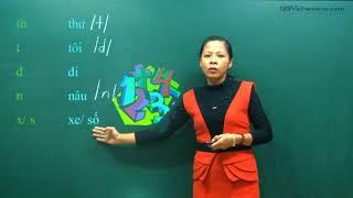 Dạy tiếng Việt cho người Trung Quốc, Đài Loan - Bài 1: Phụ âm