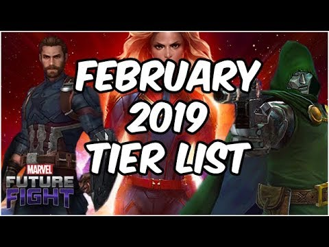 Marvel Future Fight Best Characters 2019 Best Heroes Ranked February 2019 (184 Character Tier List