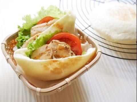 Pita Bread口袋麵包(口袋餅)❤清爽美味的早餐或野餐輕食新選擇!