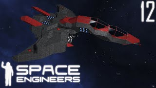 Space Engineers Shipyard: Avocet Advanced Fighter