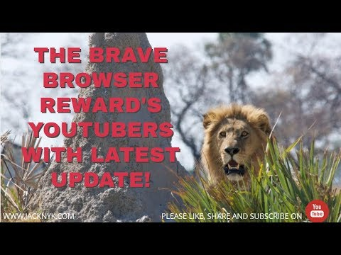 Basic Attention Token's (BAT's) Brave Browser Updated for YouTubers!