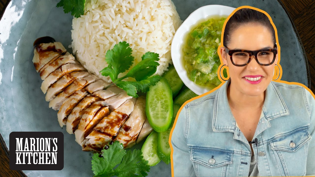 How To: HAWKER-STYLE Hainanese Chicken Rice At Home 🙌💯 | Marion's Kitchen