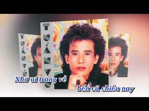 Trăm năm bến cũ   Tuấn Vũ Karaoke