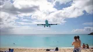 Пляж для любителей острых ощущений - Интересные факты(Махо-Бич — один из самых необычных пляжей в мире. Он находится на небольшом Карибском острове Сен-Мартен,..., 2015-08-20T14:24:26.000Z)