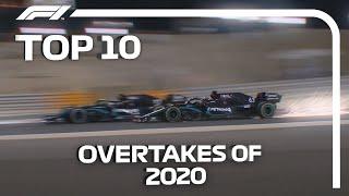Top 10 Overtakes of the 2020 F1 Season