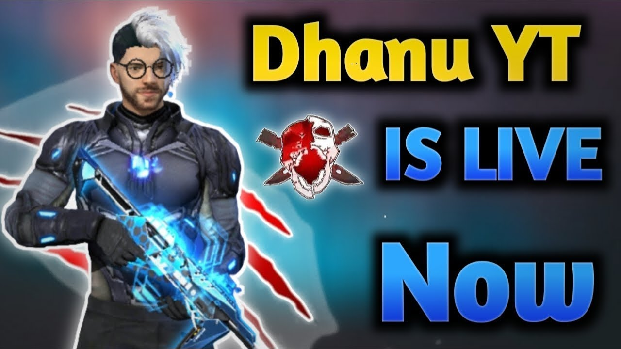 😍👑 Suddenly Surprise with Live   Free Fire in Telugu | Dhanush FF Gamer |