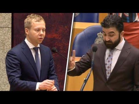 Harde clash DENK en VVD