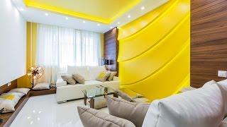 Яркие глянцевые натяжные потолки в спальне(, 2016-08-23T14:25:49.000Z)