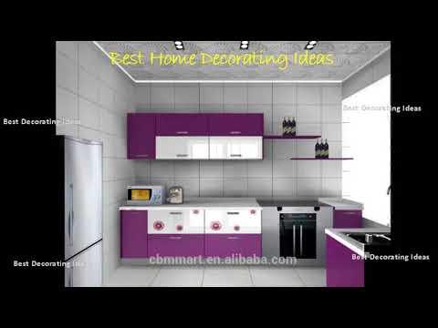 Kitchen Cabinet Design Aluminium Modern Style Kitchen Decor Design
