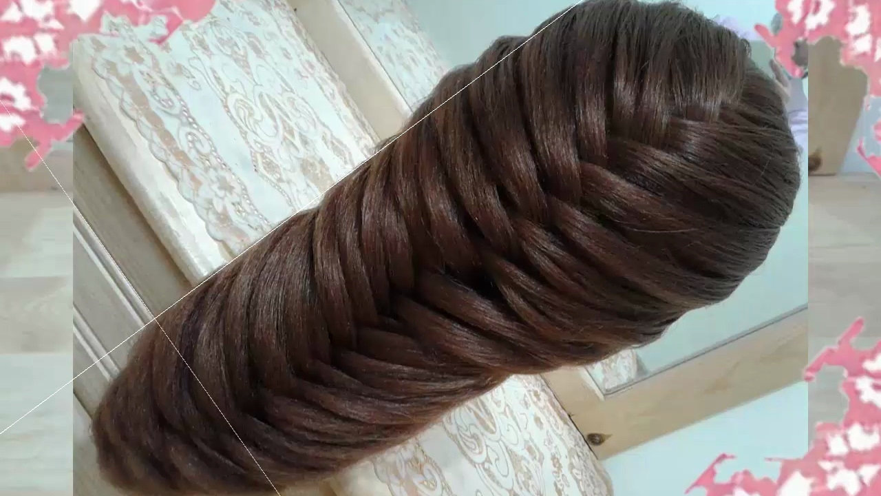 Peinados recogidos faciles para cabello largo bonitos y rapidos con trenzas para ni a para - Como hacer peinados faciles y bonitos ...