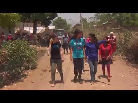 selena Gomez visiting Nepal village.