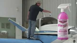 How to Clean Aircraft Windows - Airplane Window Cleaner