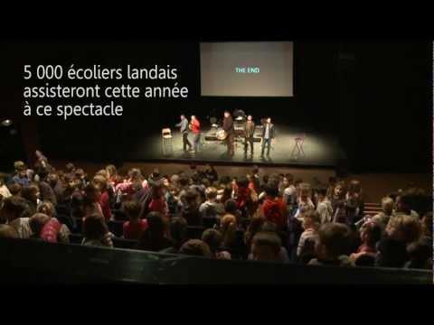West Side Story présenté à 5000 écoliers par le Conservatoire des Landes