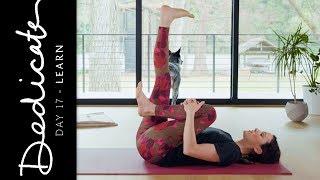 dedicate day 17 learn yoga with adriene