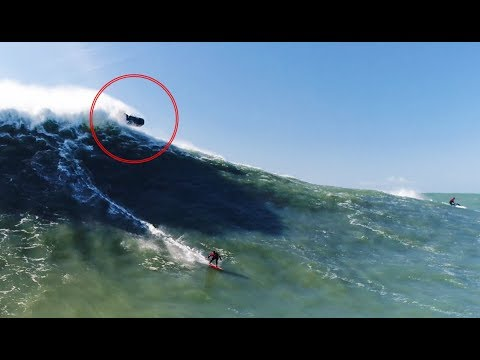 Deconstructing a Near Disaster at Nazaré; Who Really Had the Right of Way?