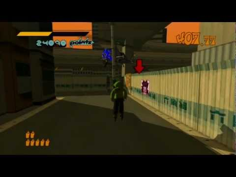 jet set radio achievement guide