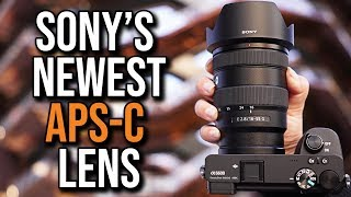 The Sony Lens We've Been WAITING For!!
