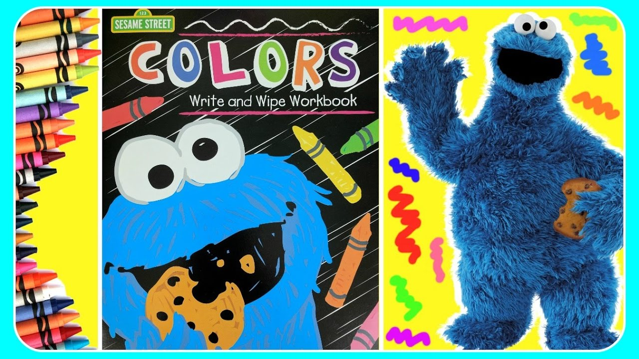 7a79bb475 Learn COLORS With Sesame Street Elmo, Cookie Monster, Oscar! Fun  Educational Video For Toddlers & B