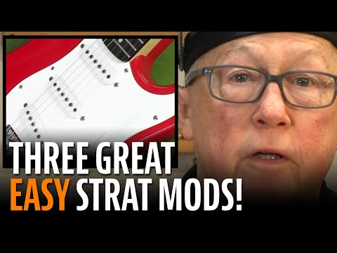 Fender Squier Stratocaster Mods - 3 Easy Mods to Make Your Strat Play Great
