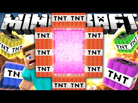 Thumbnail: If a TNT Dimension was Added - Minecraft