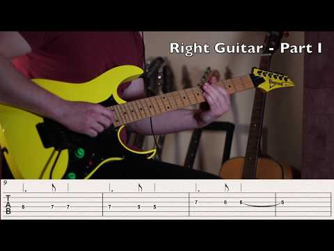Rats, Both Guitars Solo Lesson/TABS - Ghost
