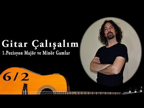 Gitar Çalışalım-Majör ve Minör Gamlar G / Em