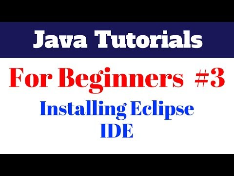 java-tutorial-for-beginners-3---installing-eclipse-ide