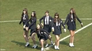 GFRIEND's Yuju SinB 유주 신비 Funny Accident