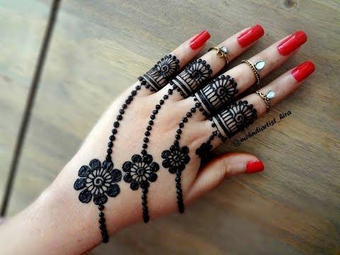Simple and beautiful mehndi designs videos
