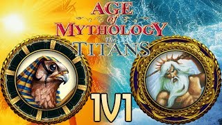 Age of Mythology Online - Part 1 - Steamrolling A Newbie